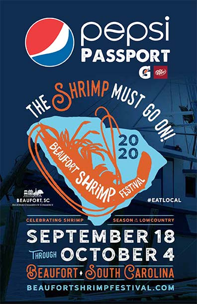 Shrimp Festival 2020 Passport